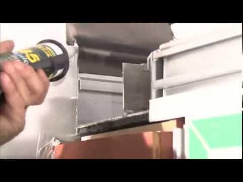 Aluminium Box Gutter Trim Conservatory Finishing Youtube