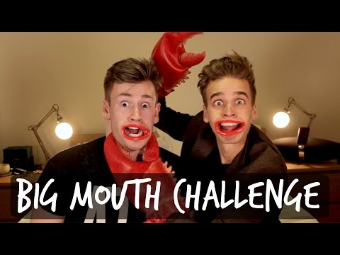 THE BIG MOUTH CHALLENGE