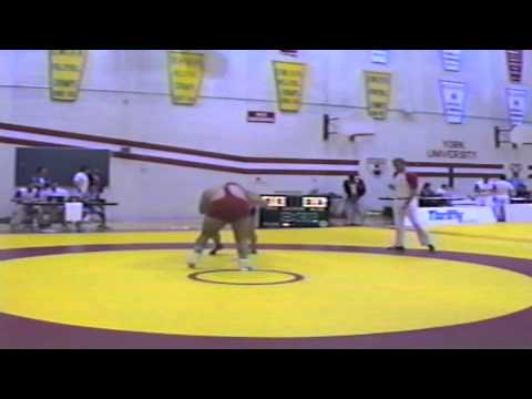 1986 York Event Match 1: 130 kg Unknown vs. John Klompmaker