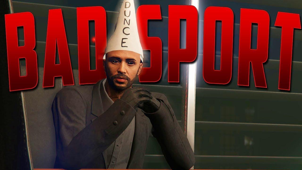 Returning To The Wonderful World Of Badsports - GTA 5 Online