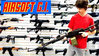 Airsoft Competition and Store Tour at AIRSOFT GI - WHO WILL WIN?