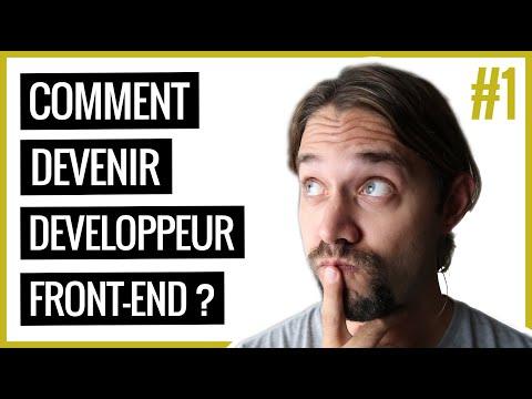 Comment devenir Front-End web développeur? (Partie 1)