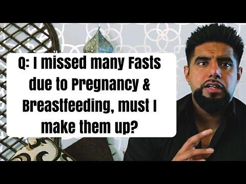 Q: I missed many Fasts due to Pregnancy & Breastfeeding, must I make them up? Mufti Abu Layth