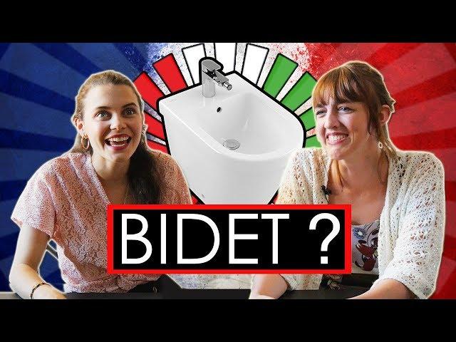 Le FRANCESI usano il BIDET ? Risposte agli ITALIANI - thepillow