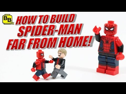 Download Lego Spider Man Homecoming Homemade Suit Minifigure