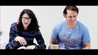 Sam Heughan and Caitriona Balfe - Expecting the unexpected