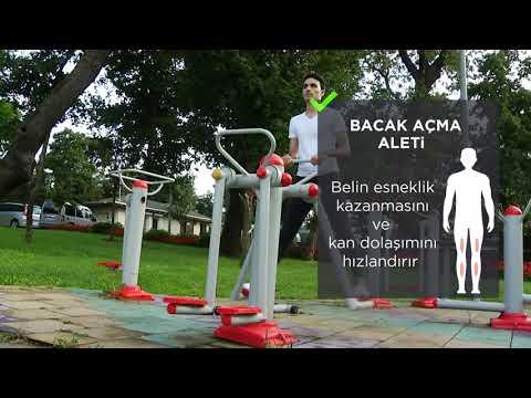 Sokak Egzersizleri | Bacak Açma Aleti