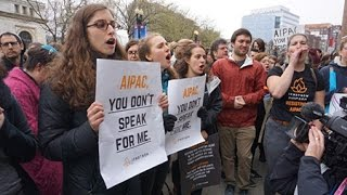 At AIPAC Protest, Young American Jews Voice Rejection of Israeli Policies