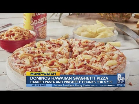 Carmen - Dominos Reveals Their New Pineapple Spaghetti Pizza