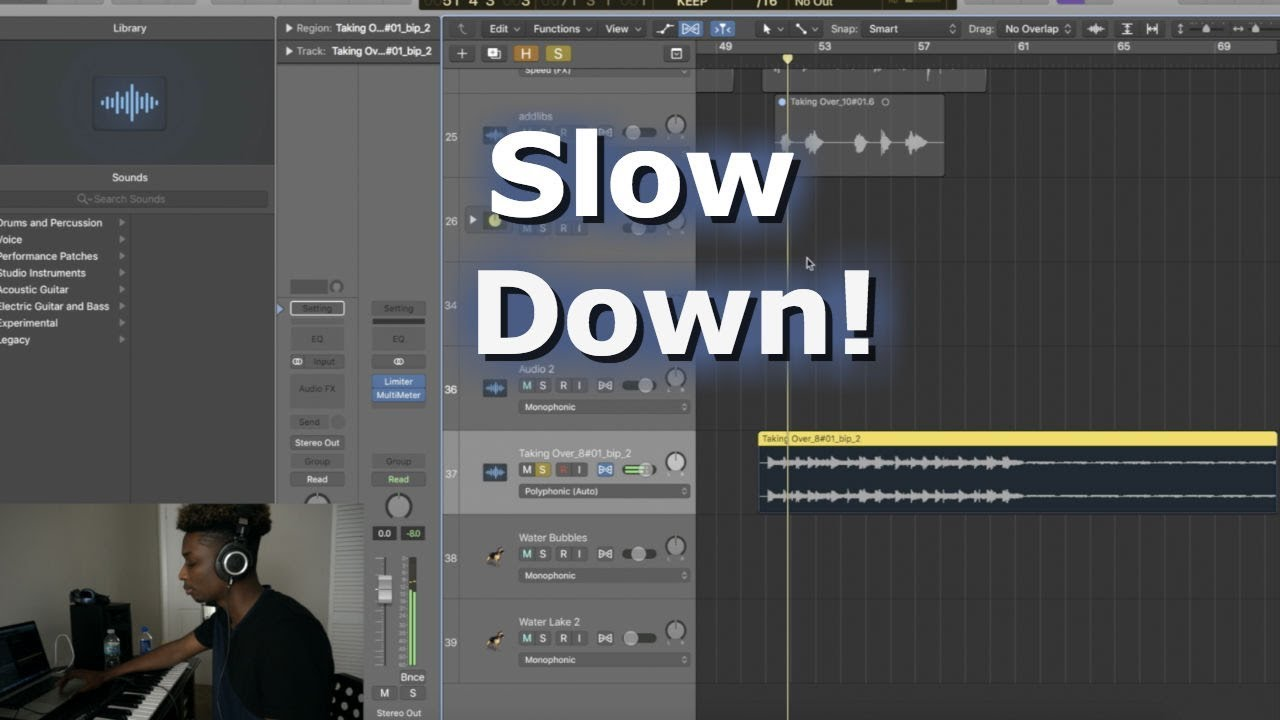 how to make voice deeper in logic pro x