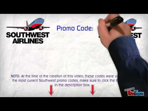 southwest promo code most updated southwest coupons youtube. Black Bedroom Furniture Sets. Home Design Ideas