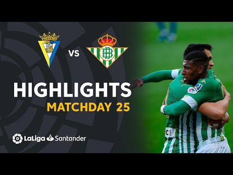 Cadiz Betis Goals And Highlights