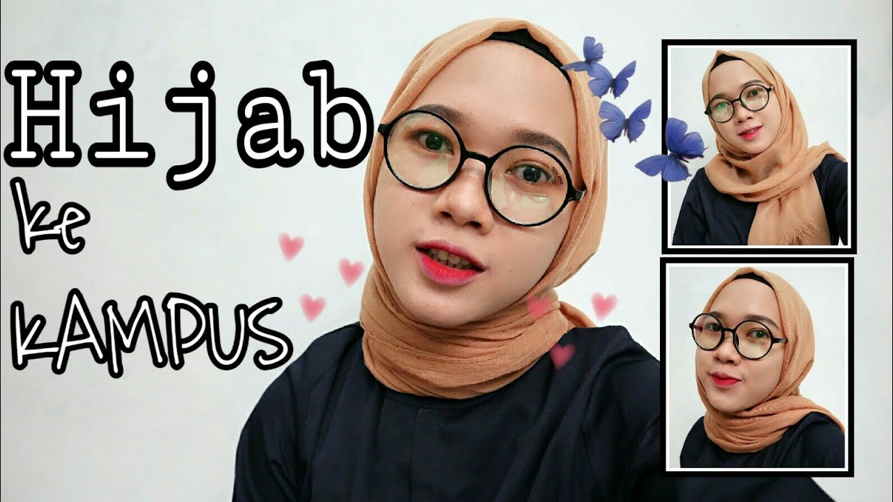 Video Tutorial Hijab Pashmina Untuk Ke Kampus Ala Selebgram How To Be Trendy