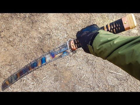 KATANA FOR ZOMBIE APOCALYPSE how to make DIY
