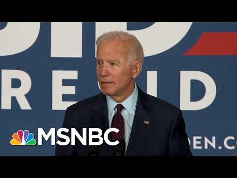 Joe Biden Calls Out Donald Trump For Lack Of 'Moral Leadership' | Deadline | MSNBC