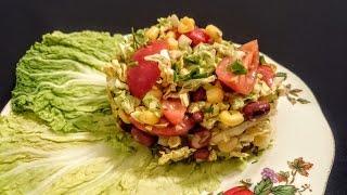 Вкусный салат из Пекинской капусты рецепт Секрета