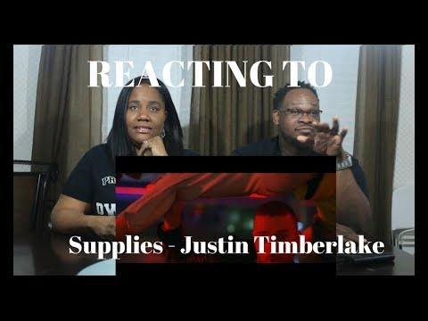 Justin Timberlake - Supplies (Official Video) REACTION