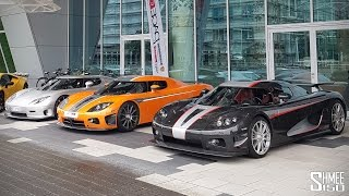 From Oldtimers to Hypercars in a Day... Nurburgring is Nuts!