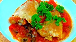 Chicken Cacciatore - Todd's Kitchen