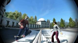 Skate 3: Bike Racks Are Fun (6 Clips)
