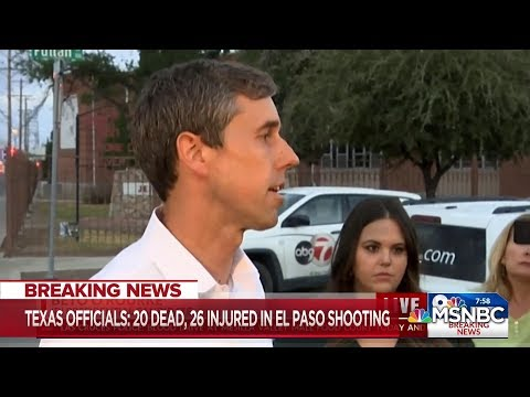 Beto O'Rourke Calls For Gun Control, Says We Need To Confront Hate | MSNBC