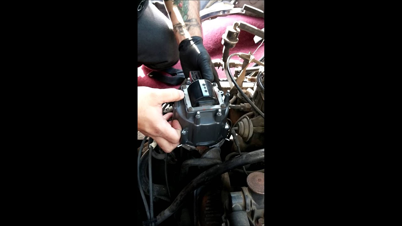 hight resolution of how to replace a distributor cap and rotor