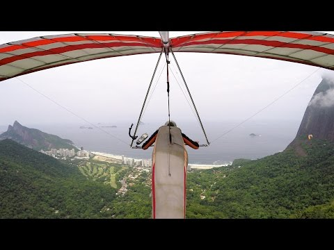 GoPro: Paragliding Over