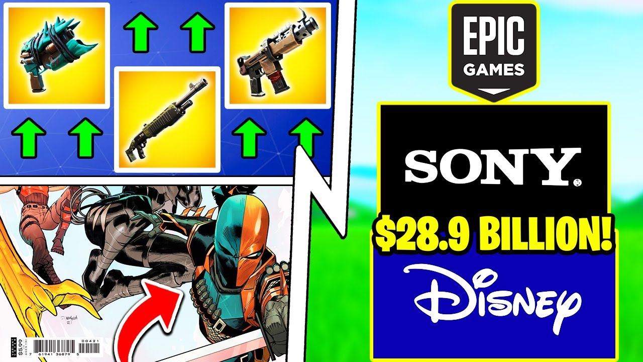 Sony BOUGHT Epic Games, 7 Weapon BUFFS Today, Superhero Skin!