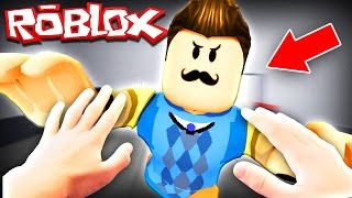 REAL LIFE HELLO NEIGHBOR IN ROBLOX!