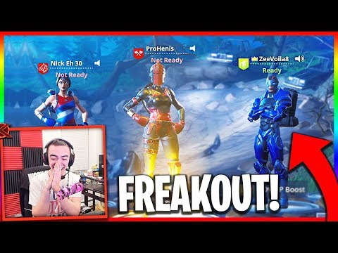 He Says He Plays With Ninja... NickEh30 Joins!! (Funny Random Duos)