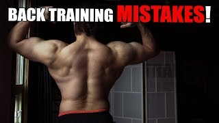 What Everyone Gets WRONG About Back Training