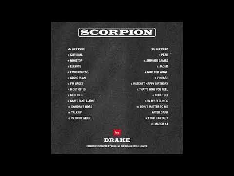 Drake - Scorpion - Tracklist