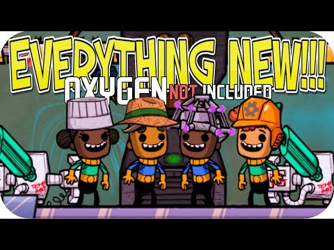 Oxygen Not Included ▶OCCUPATIONAL UPGRADE: EVERYTHING NEW◀ HATS/CONVEYOR BELT/JOBS/GREEN HOUSE ONI