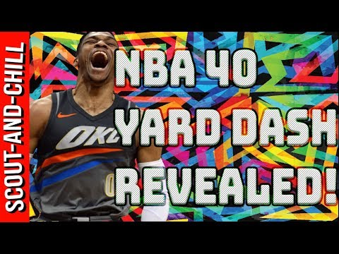 NBA 40 Yard Dash REVEALED!!!