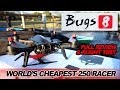 MJX BUGS 8 - WORLD'S CHEAPEST FPV RACER - Full Review