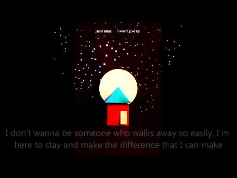 I WON'T GIVE UP - Jason Mraz - WORSHIP REMIX