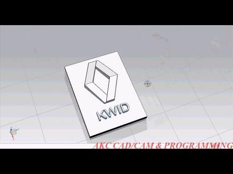 Siemens Nx CAD  UG NX   Modeling Training Tutorial   Renault KWID logo  NX10 CAD Modelling