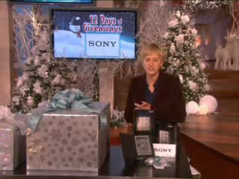 ellen degeneres show ellens 12 days of giveaway officially begins youtube