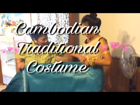 Cambodian Traditional Costume