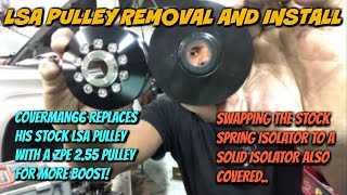 LSA Pulley Removal/ Install Upgrade to ZPE Griptec 2.55