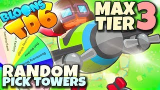 Uparte samoloty  | MAX 3 TIER | Bloons TD6 PL