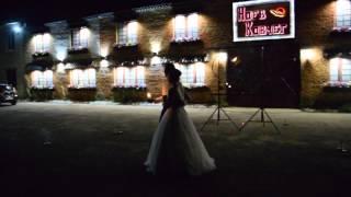 Салют на свадьбе Дины и Алексея