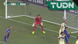 ¡Autogol de Bruno Valdez! Tigres lo empara de último minuto