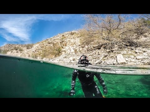Finding An Underwater Oasis In The Sonoran DESERT!!! (creepy)