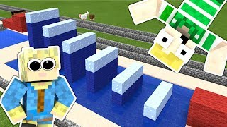 Dansk Minecraft - VILDESTE NINJA WARRIOR!!