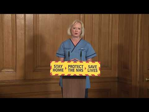 WATCH: UK Officials Hold Press Conference On Coronavirus