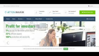 LONG TERM USD INVESTMENTS SITE - ATTONBANK - WE ARE HELP YOU WITH YOUR FINANCIAL