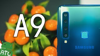 Samsung Galaxy A9 2018 comes with world's first rear quad camera se...