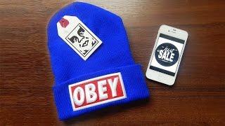 Синяя шапка Obey - Видео Обзор