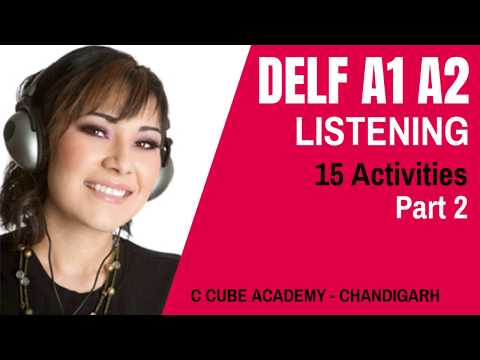 DELF A1 Listening Comprehension Online Practice - DELF A1 Listening Sample Papers